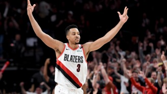 Blazers' CJ McCollum Is Spending His Memorial Day Trolling The Hell Out Of Skip Bayless