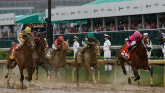 The Internet Reacts To Bizarre, Controversial Ending To Kentucky Derby Race