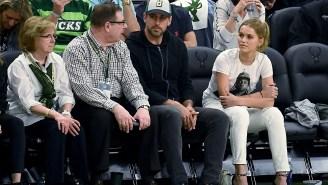 Mallory Edens, Daughter Of Bucks Owner, Hilariously Trolls Drake By Wearing Pusha T Shirt At Game 5 Of Bucks-Raptors Series