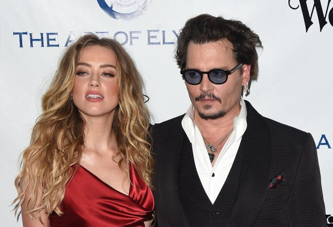 """Johnny Depp says Amber Heard painted fake bruises on her face in """"false"""" domestic violence charges and defecated in his bed according to court filing."""