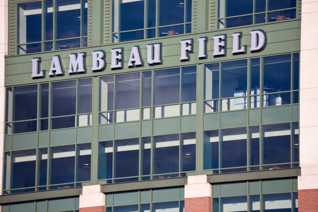 New Green Bay Packers head coach Matt LaFleur tore his achilles playing knockout at Lambeau Field