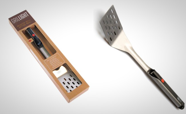 Grillight LED Spatula Flashlight Grilling Tool