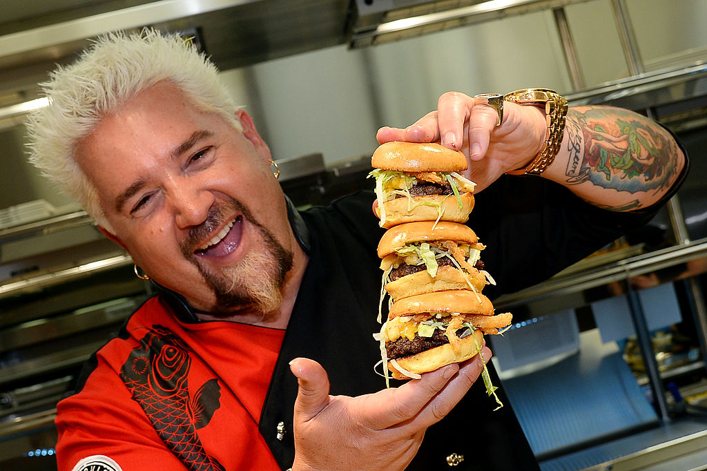 We Finally Know How Guy Fieri Got His Iconic Bleach Locks And The Backstory Is Pretty Hilarious