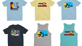 New Collection Of Surf-Inspired Tees And Tanks Are Beyond Radical And The Perfect Beach Attire