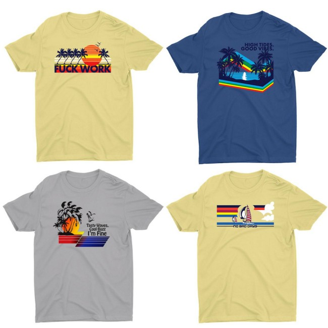 Highly Clutch Surf Tee 1
