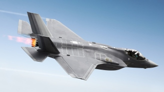 F-35 Pilots Draw Sky Penis During Dogfight But Air Force Says It Was An 'Accident'