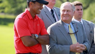 Jack Nicklaus Shares Thoughts On Tiger Woods' Comeback And Why He Thinks The Major Title Record Will 'Probably' Be Broken