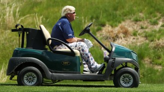 John Daly's Response To A Fan Asking How His Knee's Feeling At The PGA Championship Was Classic Daly