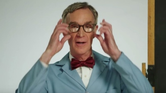 Bill Nye The Science Guy Helps Explain The 'Green New Deal' Using F-Bombs And Exploding Mentos In Diet Coke