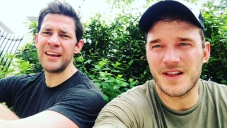 John Krasinski And Chris Pratt Implore You To Take The Murph Challenge On Memorial Day To Support Fallen Veterans