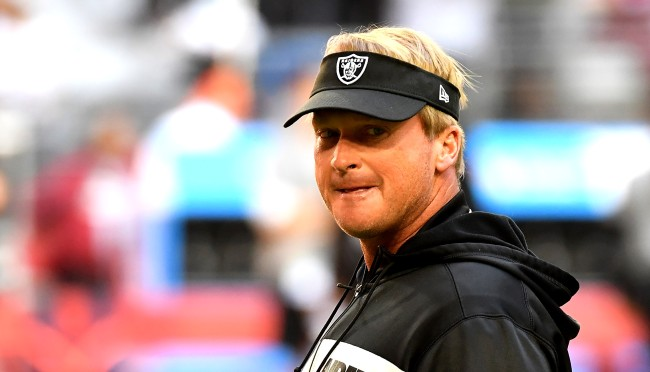 Jon Gruden Comments On His Relationship With New WR Antonio Brown