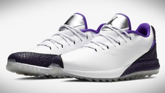Jordan Brand Released Some New 'Dark Concord' ADG Golf Shoes That'll Make You King Of The Clubhouse