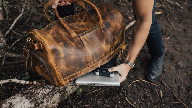 Kodiak Leather The Ultimate Leather Travel Bag