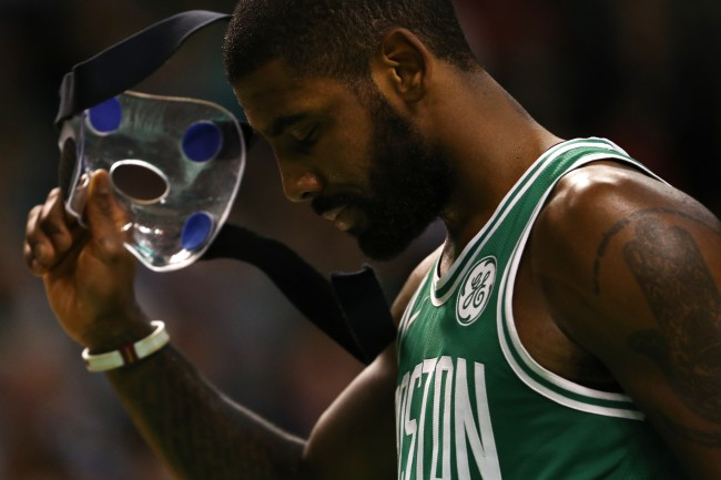 """Kyrie Irving's """"old body"""" is reportedly a concern for NBA teams this summer, according to Chris Carter"""