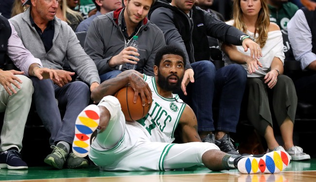 Kyrie Irving Teammates Cant Wait For Him To Leave Says Jalen Rose