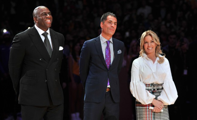 Lakers GM Rob Pelinka Denies Allegations Made By Magic Johnson