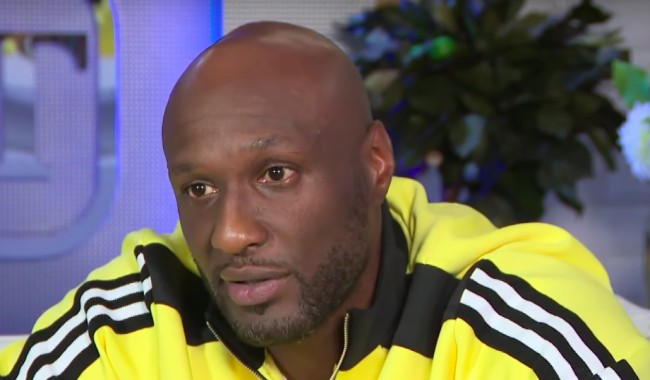 how much lamar odom spent on drugs
