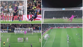 Lionel Messi's 600th Career Goal For Barcelona Was A Perfect Shot That Defied The Laws Of Physics And Man