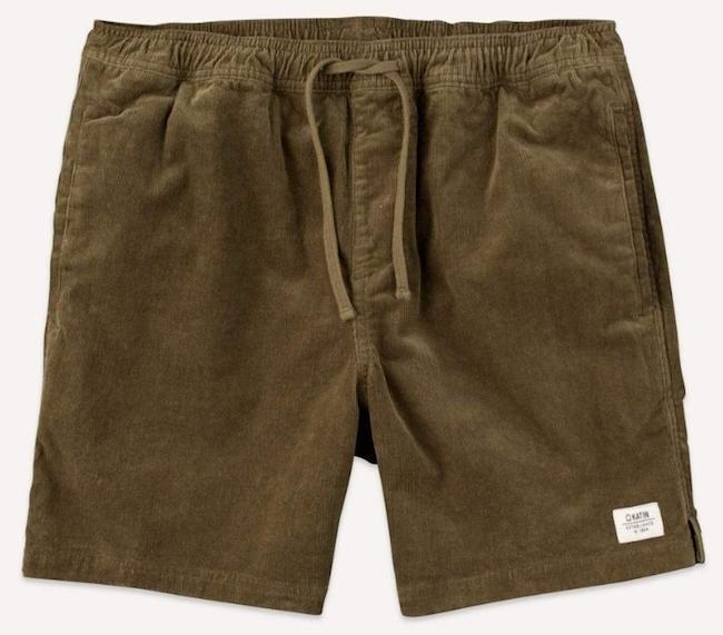 Local Cord Shorts from Katin
