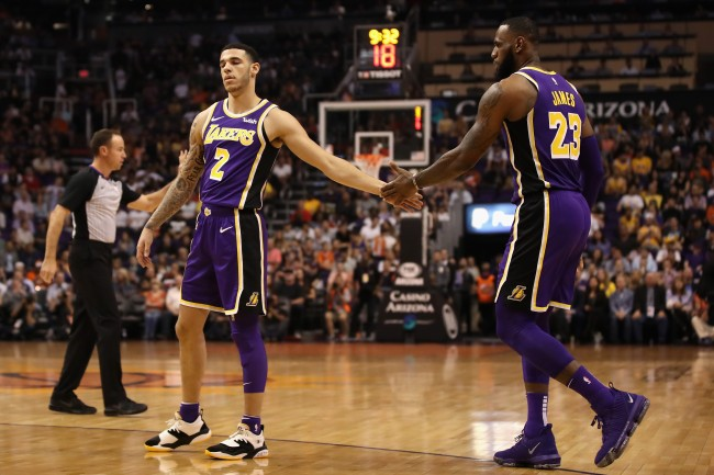 Lonzo Ball admitted on HBO's 'The Shop' that he didn't get comfortable around LeBron James until the NBA's All-Star break