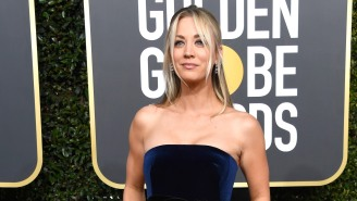 Kaley Cuoco Had To Get Tips On How To Film A True Steamy Scene In 'The Flight Attendant'