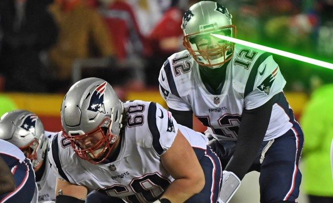 Man Arrested For Shining Laser Pointer At Tom Brady Will Not Apologize