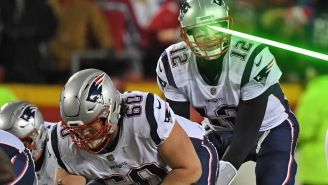 Man Arrested For Shining Laser Pointer At Tom Brady In AFC Championship: 'I'm Not Gonna Apologize'