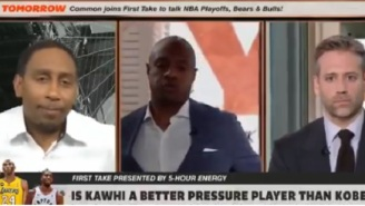 Jay Williams Was Absolutely Disgusted And Nearly Walked Off The Set After Max Kellerman Said Kawhi Leonard Is Better Than Kobe Bryant