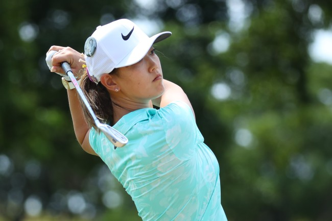 Michelle Wie responds to Hank Haney's critical comments about women's golf by blasting his remarks.