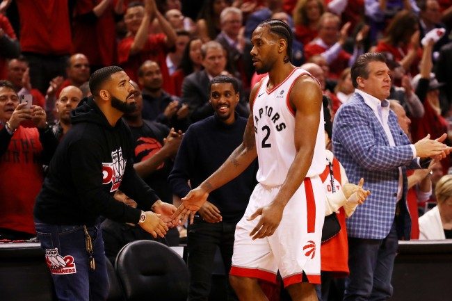 Someone paid more than $57,000 for courtside seats to Game 1 of the NBA Finals between the Golden State Warriors and Toronto Raptors