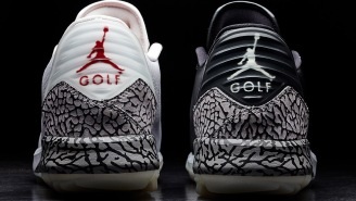 Nike Just Dropped Their First Pair Of Spikeless Air Jordan Golf Shoes, And They Are Dope