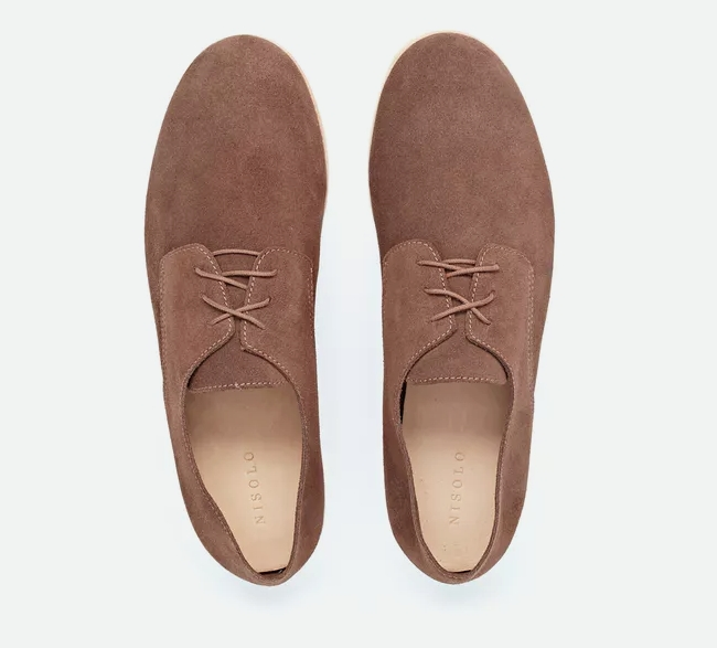 Nisolo x Huckberry Travel Derby Shoes