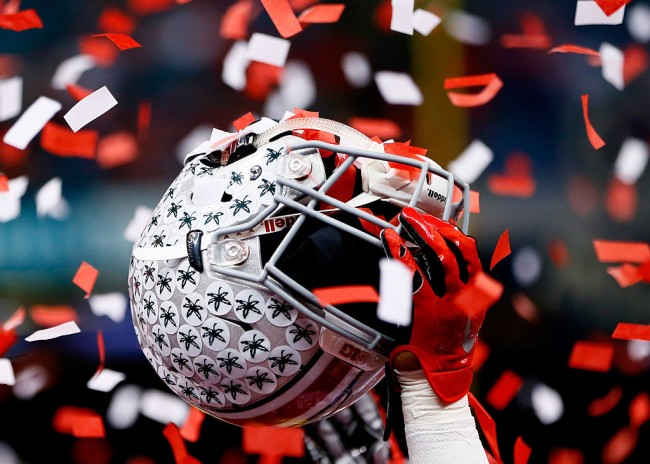 ohio state ad socially distanced fans football games