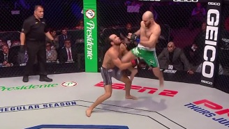 This Devastating Flying-Knee Just 10 Seconds Into PFL Fight Might Be Knockout Of The Year