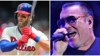 Smash Mouth Mocks All-Star Bryce Harper For Getting Booed By Home Crowd, Immediately Gets Buried Alive By The Internet