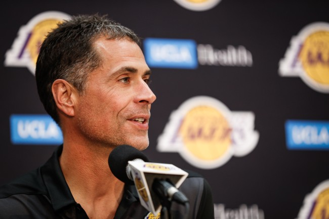 Twitter roasted Los Angeles Lakers GM Rob Pelinka after absurd story involving Kobe Bryant and Heath Ledger.