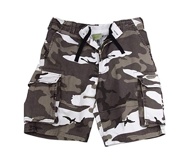 Rothco Vintage Paratrooper Shorts in City Camo