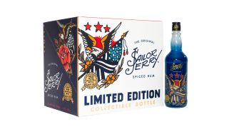 Sailor Jerry Spiced Rum Just Dropped A Limited Edition Bottle That's American AF, Along With A $100,000 Donation Commitment To The USO