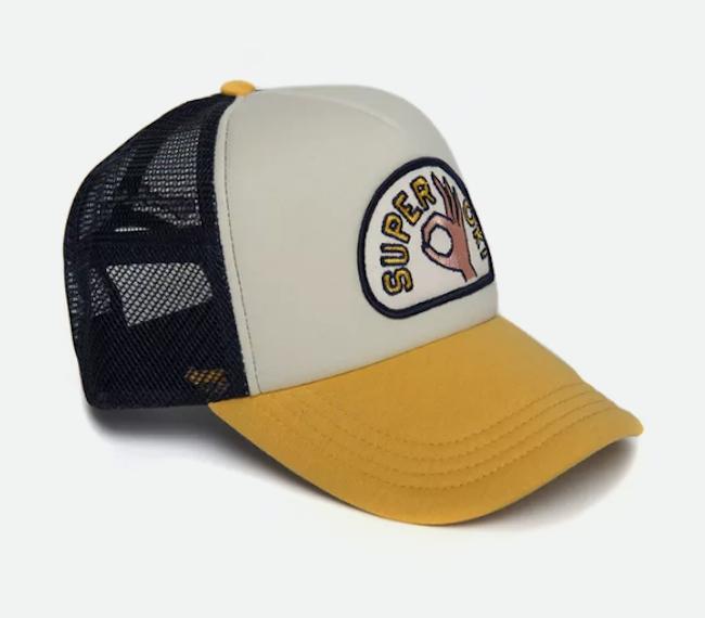 Salty Trucker Hat from Deus Ex Machina