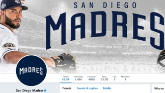 Some Awesome Dude Hilariously Stole The Padres' Twitter Handle After They Changed It For Mother's Day