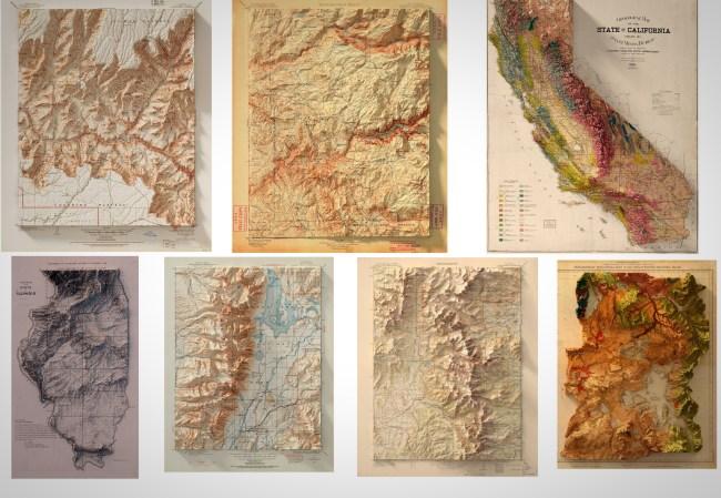 Scott Reinhard Topographic Maps