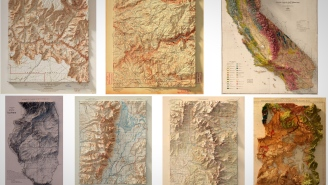 Your Man Cave Needs One Of These Dope Topographic Maps Of National Parks And Mountain Ranges