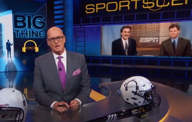 Scott Van Pelt delivers awesome and inspiring message to Dan Patrick on SportsCenter