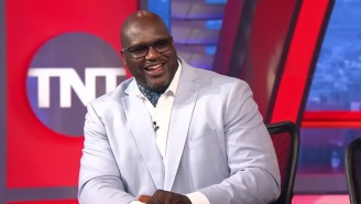 Shaq Rocked An Ascot Wednesday Night On 'NBA On TNT' And The Internet Could Not Control Itself