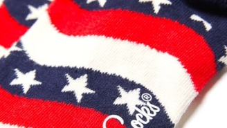 These Happy Socks Wavy American Flag Socks Are The Ideal Way To Show You're All About The Red, White And Blue