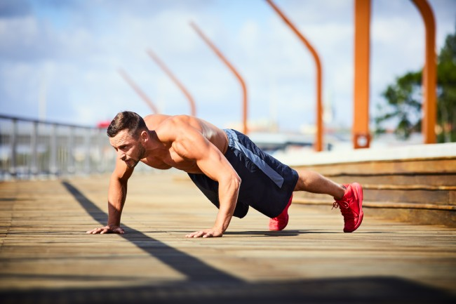 superman pushup how to
