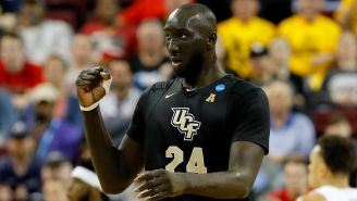 Tacko Fall's Official NBA Combine Measurements Are Almost Too Absurd To Be Believed