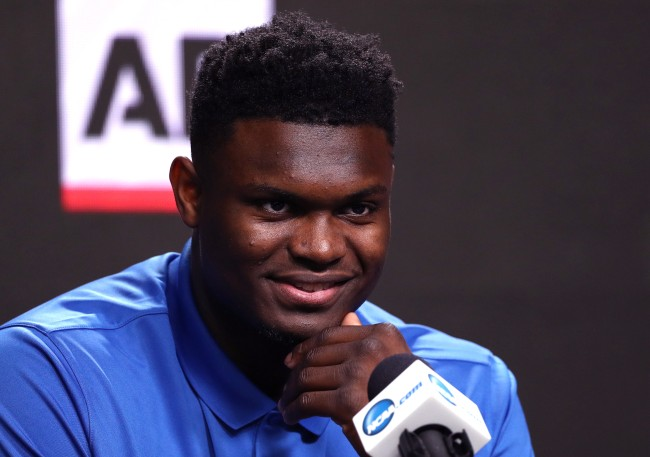 Zion Williamson was reportedly hoping the New York Knicks won the NBA Lottery and was looking forward to playing for the franchise