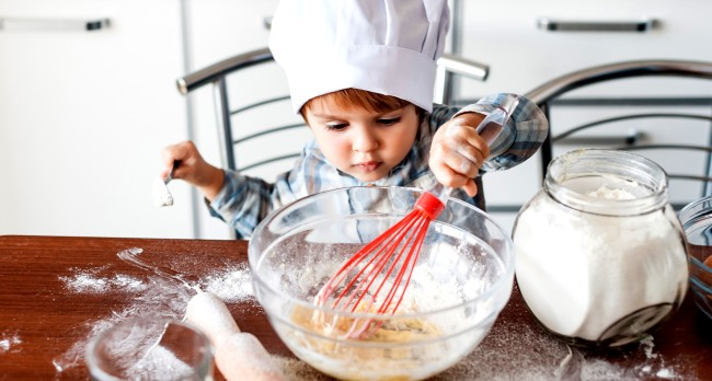 A Group Of Pre-School Kids Created Their Own Cookbook Recipes