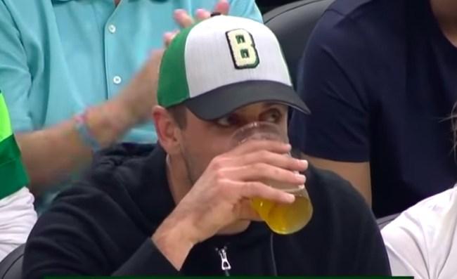 aaron rodgers responds beer chugging criticism